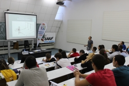 Kids athletics seminar - Dissemination event Bulgaria