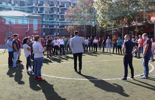 Outstanding Launch Of Sport Diplomacy Academy In Sofia European